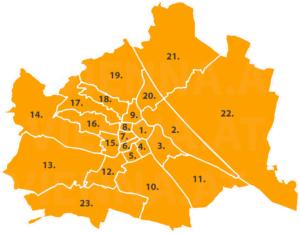 Wiener Grätzl Touren - entdecke alle 23. Bezirken