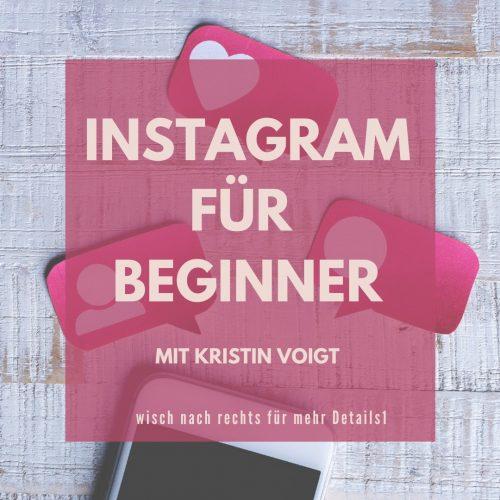 Instagram für Beginner Workshop