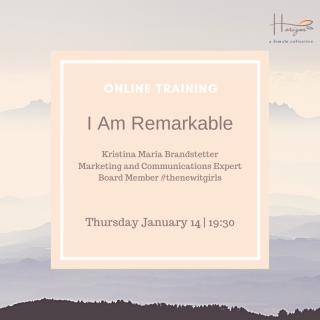 I Am Remarkable Training