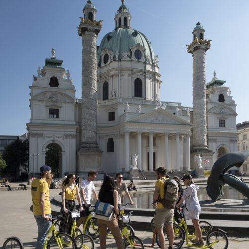 Mit dem Kick Bike Wien entdecken