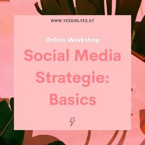 Social Media Strategie: