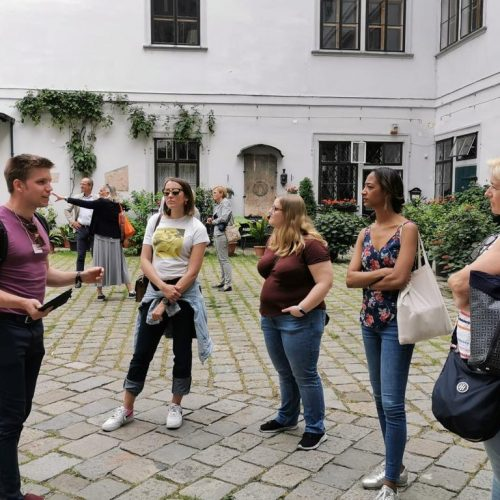 Versteckte Innenhöfe und Plätze Wiens